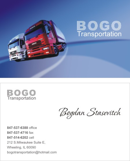 Business Card Design Page 3