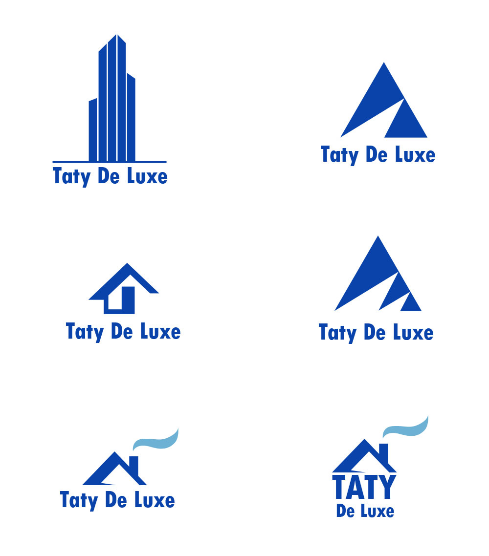 Taty construction logo design for Designing company